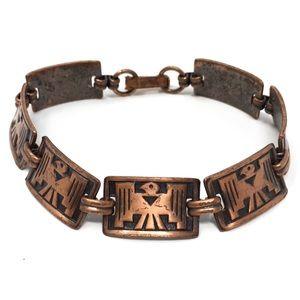 Vintage 1970s Copper Bracelet